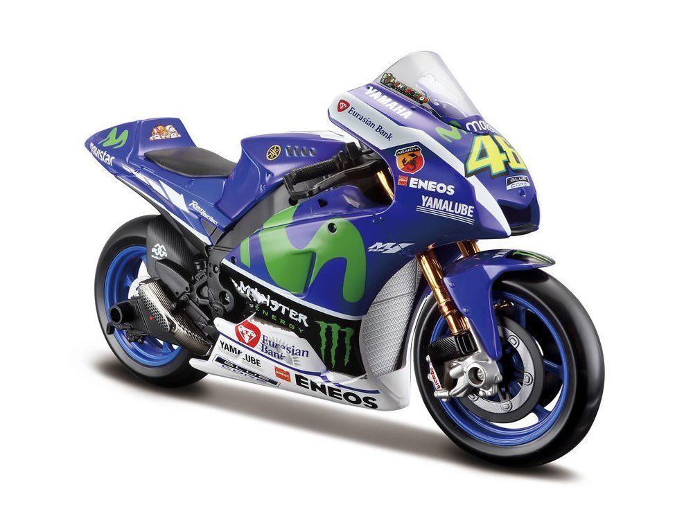 Maisto 1 10 Scale 2015 Yamaha Valentino Rossi No 46 Licensed Product Model 31408