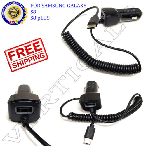 ADAPTIVE FAST TYPE C CAR CHARGER FOR SAMSUNG Galaxy Note 7 Galaxy Note 8