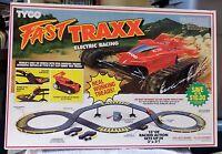Tyco 1992 Fast Traxx Ho Slot Car Set 6207