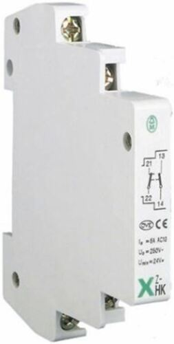 Auxiliary Contact with Screw Terminal, NONC, 3 A, 230 V ac