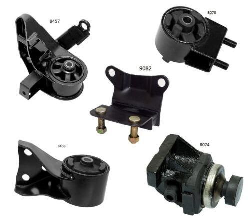 5 PCS Motor /& Trans Manual Transmission Mount For 1993-1997 Ford Probe 2.5L
