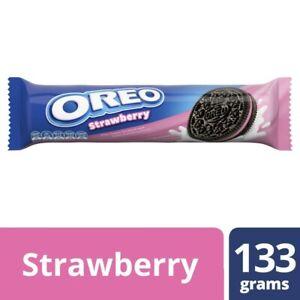 Oreo Strawberry Crme Cookies 133g