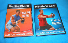 Lot of 2 KettleWorx Workout Fitness Exercise DVD's - Brand NEW, Sealed