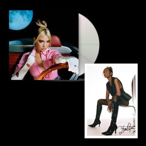 CD /& RARE SIGNED Card Dua Lipa Future Nostalgia