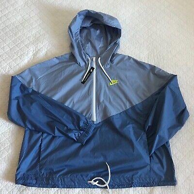 cantidad Estereotipo Indica  Nike Heritage Windbreaker Sportswear Jacket Women's Plus SZ 1X BV7081-458  NWT   eBay