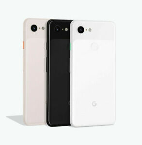 Google Pixel 3 64GB Black/ White Unlocked 5.5 inch display G013A Smartphone