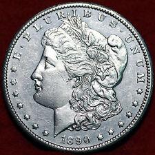 1890-CC Morgan dólar universal dólar de la libertad de cabeza 90% Moneda De Plata