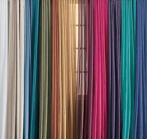 Lovely-Solid-One-Panel-Sheer-Curtain-Window-Drape-54-034-x-84-034-Long-Rod-Pocket
