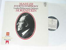 EMI - CFP 159 - MAHLER FOURTH SYMPHONY - HORENSTEIN - LP