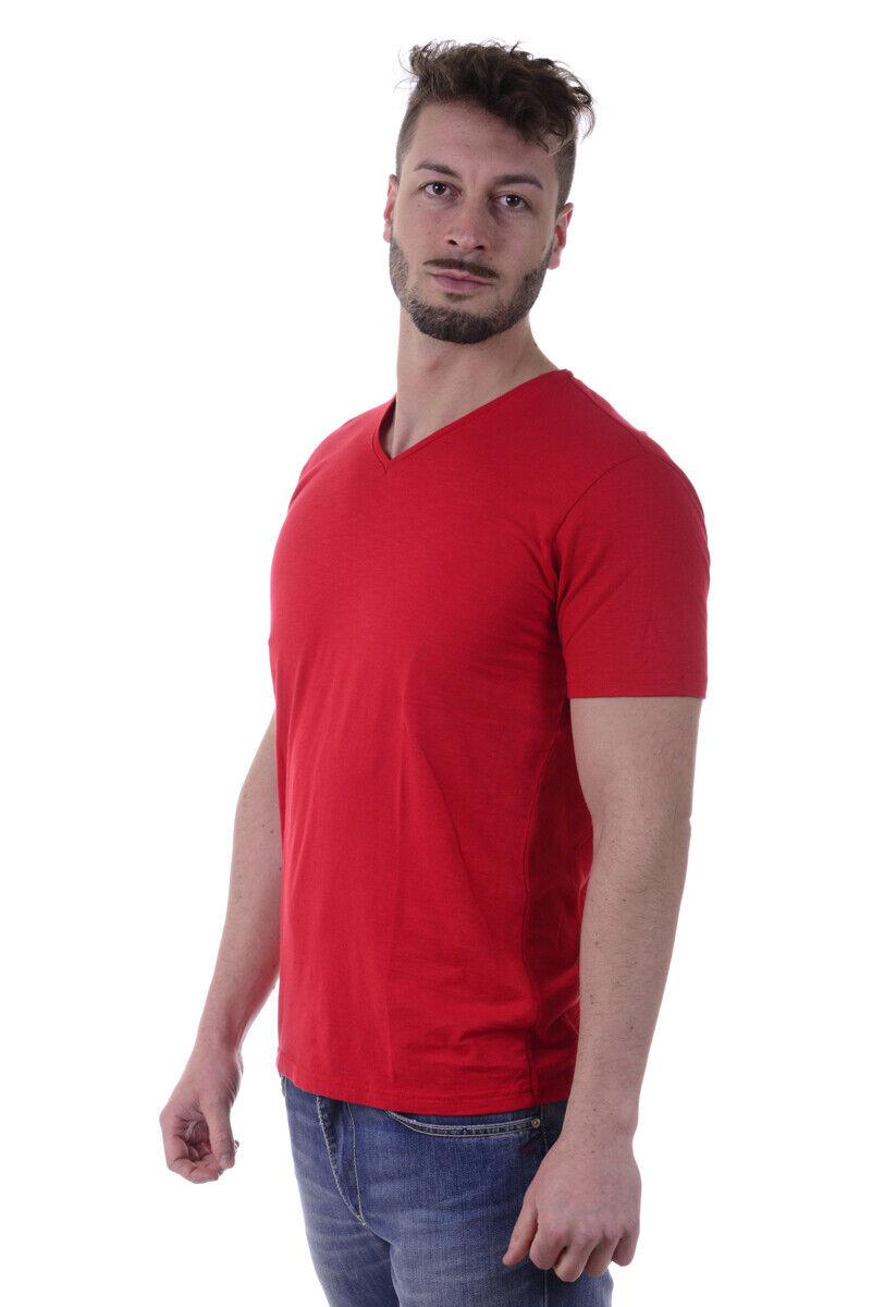 T shirt Maglietta Daniele Alessandrini Sweatshirt Uomo Uomo Uomo Rosso M5868E6473601 9 99ff56