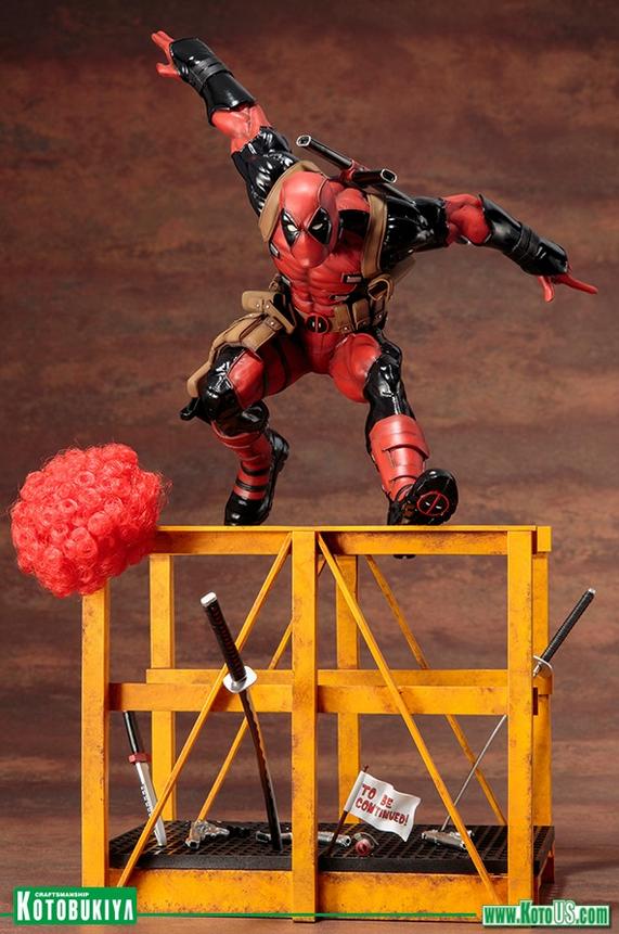 Marvel Kotobukiya Artfx+ Deadpool Statue