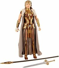 "Dc Multiverse Wonder Woman QUEEN HIPPOLYTA 6"" Action Figure Dc Comics BAF Ares"