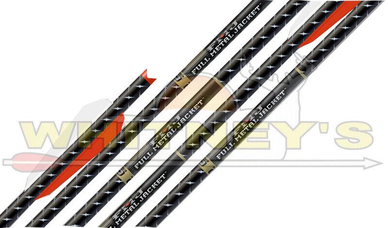 "Easton FMJ 20/"" Bolt Factory Fletched w// 3/"" BTV Vanes Moon Nock 6 Pack"