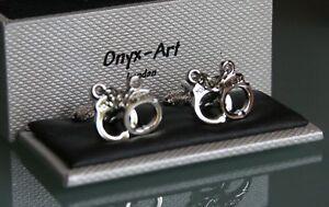 Handcuffs Novelty Cufflinks You/'re Nicked CK159