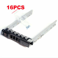 Lot Of 16, 2.5 Sas Sata Hard Drive Tray Caddy For Dell Poweredge T630 Us Seller