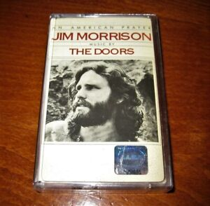 Jim Morrison An American Prayer Music By The Doors MADE IN BULGARIA CASSETTE New
