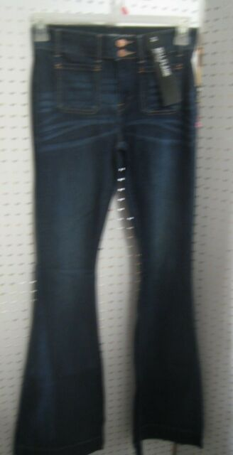 New Ladies Express Jeans - Bell Flare - Mid Rise - 2 Button Closure with Zipper