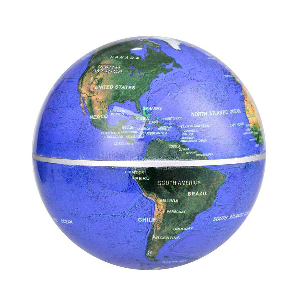 8 ledc shape globe magnetic magnetic levitation float world map 8 ledc shape globe magnetic magnetic levitation float world map light lamp gumiabroncs Images