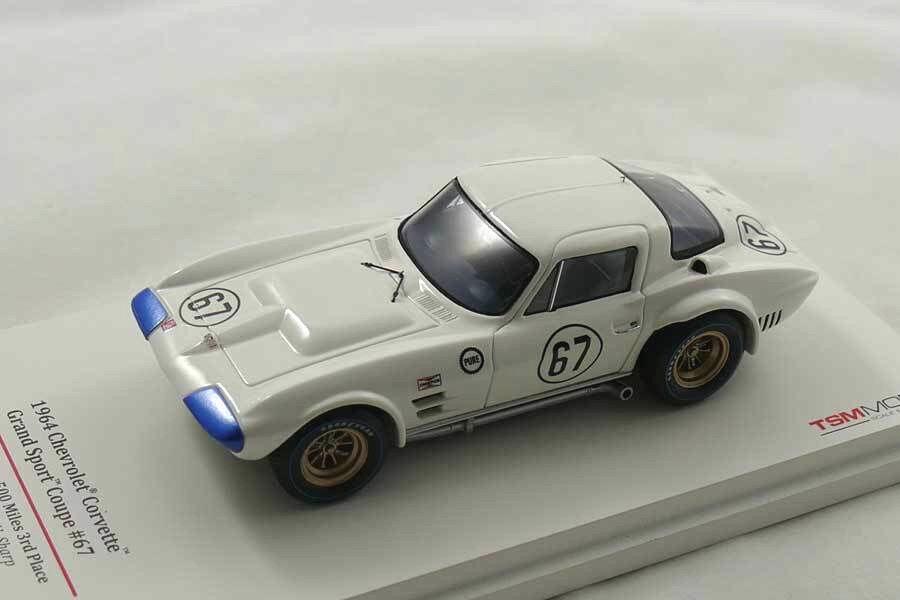 1964 Corvette Grand Sport 1964  - TrueScale TSM124322 - 1 43  | Erste Klasse in seiner Klasse