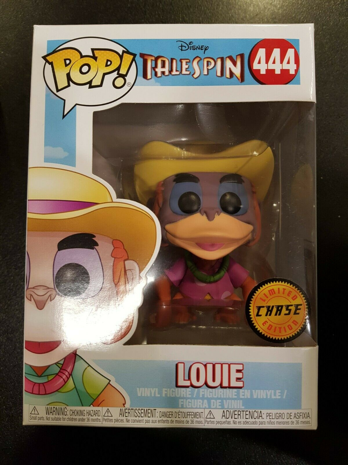 Louie   TailSpin CHASE Pop Vinyl   Very Good Condition