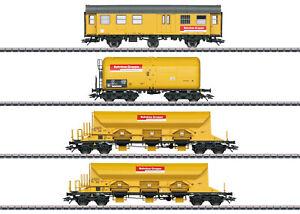 Maerklin-H0-49969-Wagen-Set-034-Bahnbaugruppe-034-der-DBG-034-Neuheit-2019-034-NEU-OVP