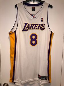 Details about VTG NIKE KOBE BRYANT #8 LOS ANGELES LAKERS AUTHENTIC NBA JERSEY 'Sunday Whites'