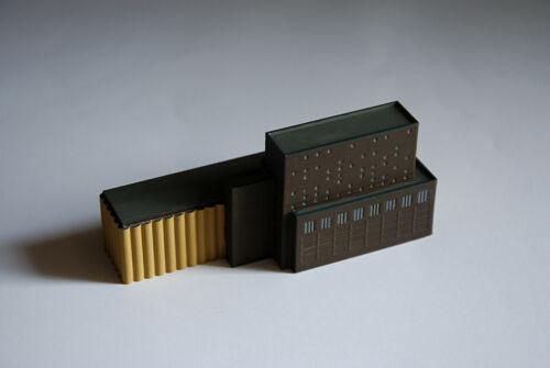 miniature for ship models 1:1250  paint Silo Grain Elevator 2