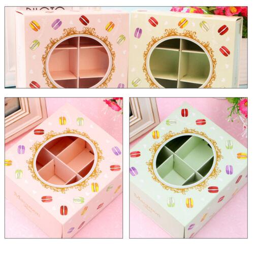 5 Stk Cupcake Muffin Box 6er Cup Aufbewahrungsbox Geschenkbox Karton Verpackung