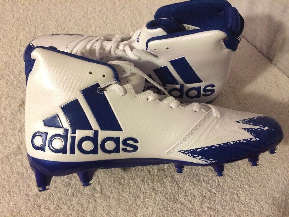 Adidas Freak X Carbon Mid Football Cleats Men's Size Royal 10. Royal Size Blue. White. 0c4752