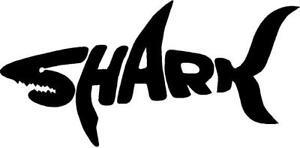 Shark Heart Window Decal Sticker *F342*