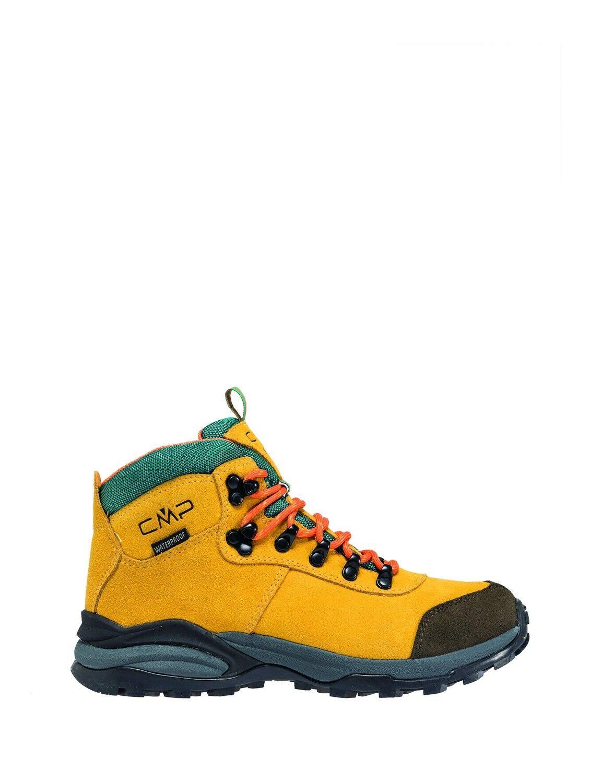 CMP trekking zapatos botín de senderisml bote amarillo Turais serraje impermeable