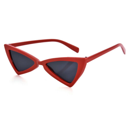 Vintage Triangle Sunglasses Women Fashion Anti-UV Glasses Retro Cat Eye Eye wear