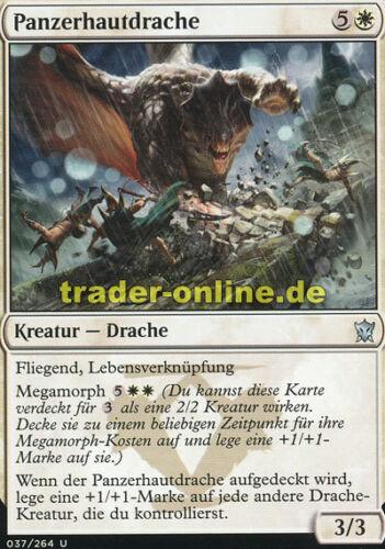 Dragons of Tarkir Magic 2x Panzerhautdrache Shieldhide Dragon