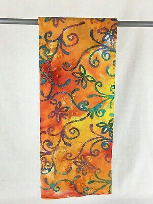 Fabric Tonga Batik confetti dots,red blue green yellow on white by 1//2 YDs