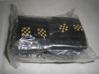 Collectible Racing Nascar Flag Earrings Black & Gold Checkered Lot Of 300 Pair