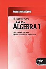 Holt Mcdougal Larson Algebra 1: McDougal Larson Larson Algebra 1 (2011, Paperback)