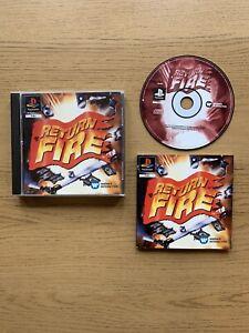 Rare-CIB-Return-Fire-Sony-Playstation-1-ps1-Spiel