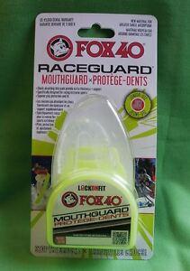 Mundschutz Zahnschutz FOX40 Grün mit Box Seniorengröße