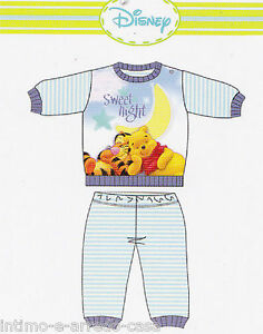 Hot Cotton Disney Baby Boy Sleeves Long Winnie Wd10947 Let Our Commodities Go To The World Pajamas Child