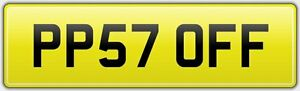 P-OFF-LEGAL-CAR-REG-NUMBER-PLATE-PP57-OFF-ANGRY-FUNNY-NAUGHTY-RUDE-FED-UP