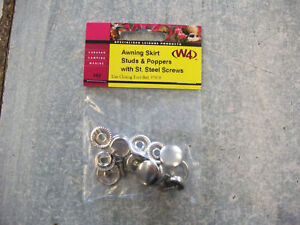 Image Is Loading W4 CARAVAN AWNING SKIRT STUDS Amp POPPERS WITH