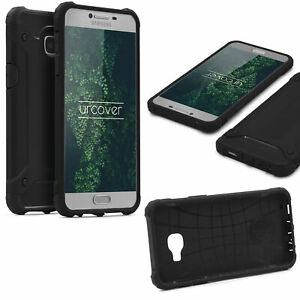 Samsung-Galaxy-c7-Outdoor-Housse-de-protection-Top-Cover-Back-Case-Carbone-Optique-etui