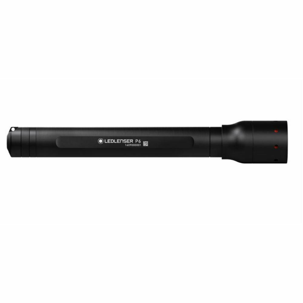 LED LENSER P6 Taschenlampe     200 Lumen mit Gürteltasche 0ded54