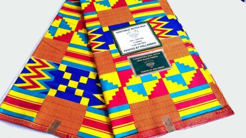 African Fabric Ankara Kente Prints By The Yard .Choose