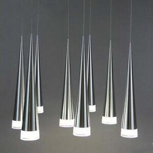 led deckenleuchte esszimmer acryl kronleuchter aluminium h ngelampen leuchten ebay. Black Bedroom Furniture Sets. Home Design Ideas