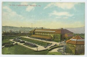 The-Zoo-Highland-Park-PHILADELPHIA-PA-Vintage-County-Pennsylvania-Postcard
