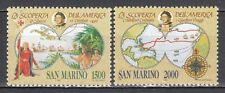 SAN MARINO 1992 Celebrazioni Colombiane cmpl 2 v. **