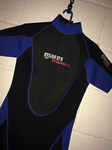 Ladies-Size-10-Mares-Scuba-Shorty-Wetsuit-Marine-13-Trade-In-Clear-out