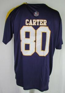 8eea83afb Minnesota Vikings Chris Carter  80 Hall Of Fame Men s NFL Player ...