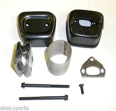 Exhaust Silencer Muffler Heat Shield Bolt For Husqvarna 137//142 141//36 41 Gasket